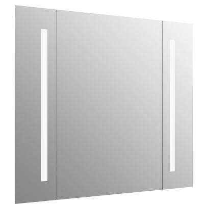 Verdera 40 in. W x 33 in. H Lighted Mirror