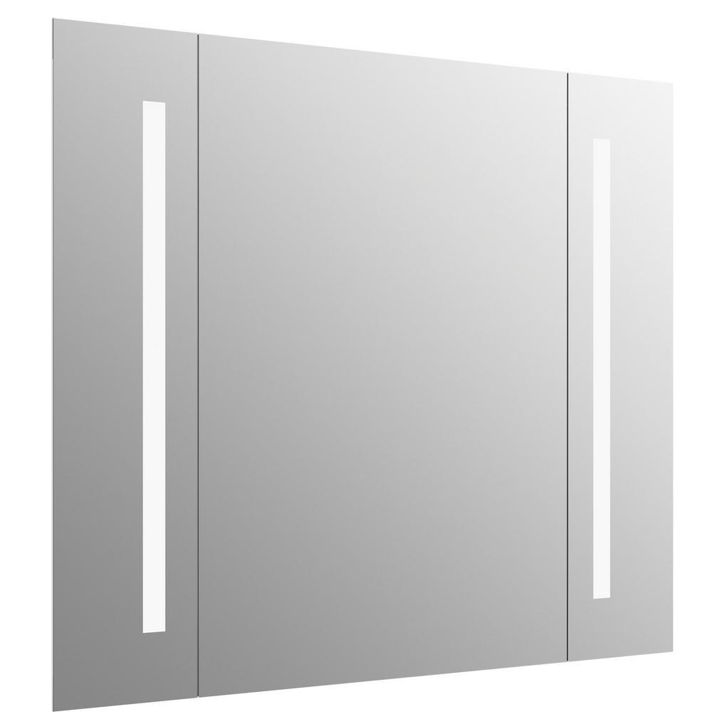 Kohler 40 In W X 33 H Frameless, Kohler Led Bathroom Mirror