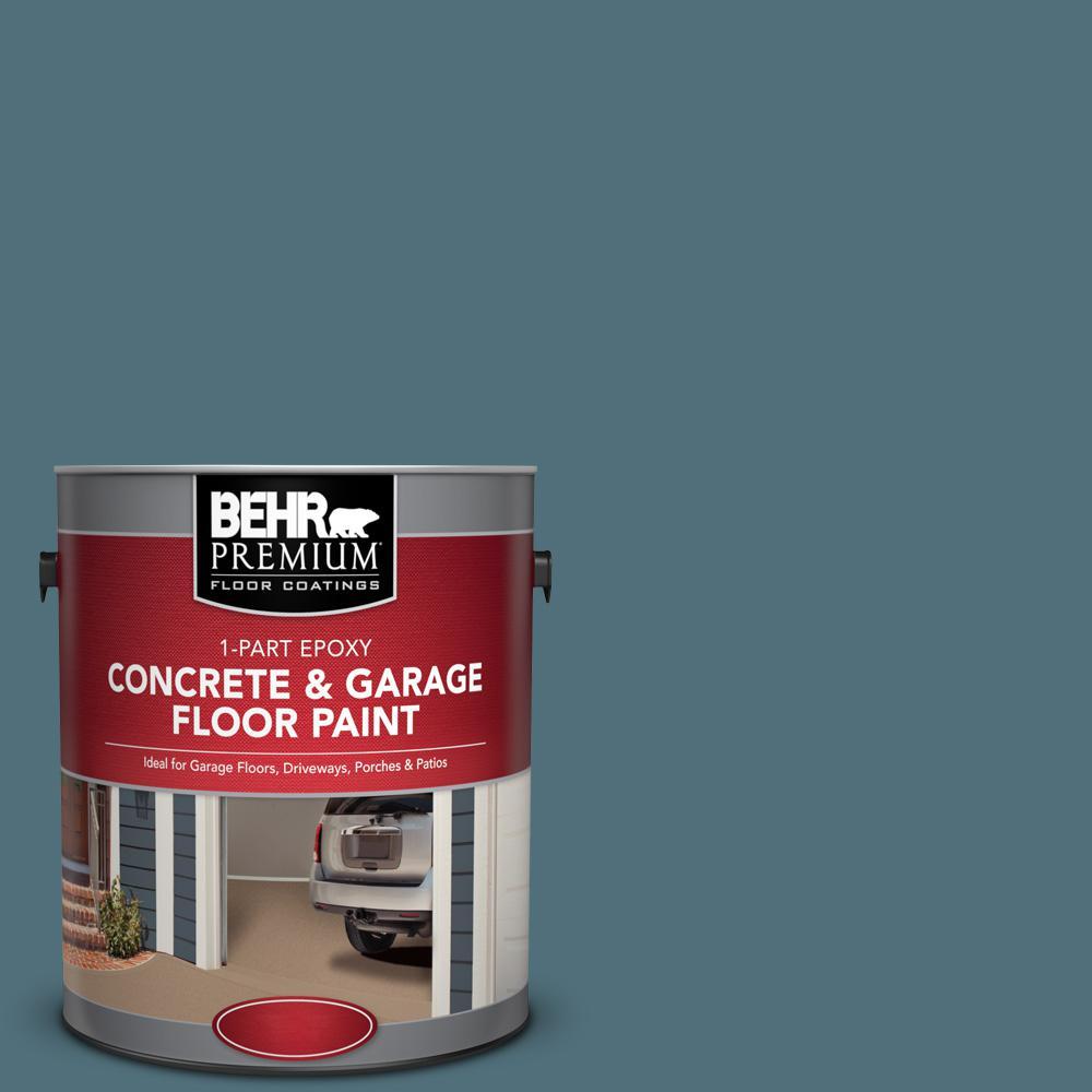 1 gal. #PFC-55 Sea Cave 1-Part Epoxy Concrete and Garage Floor Paint