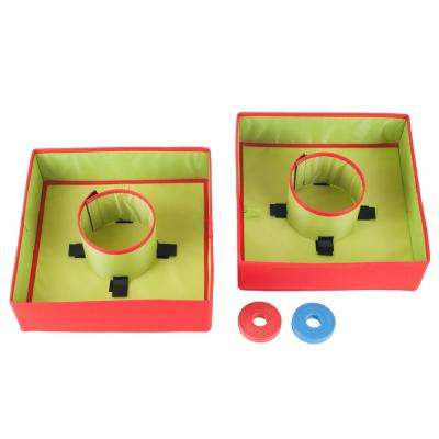 12 in. x 12 in. Collapsible Washer Toss Game