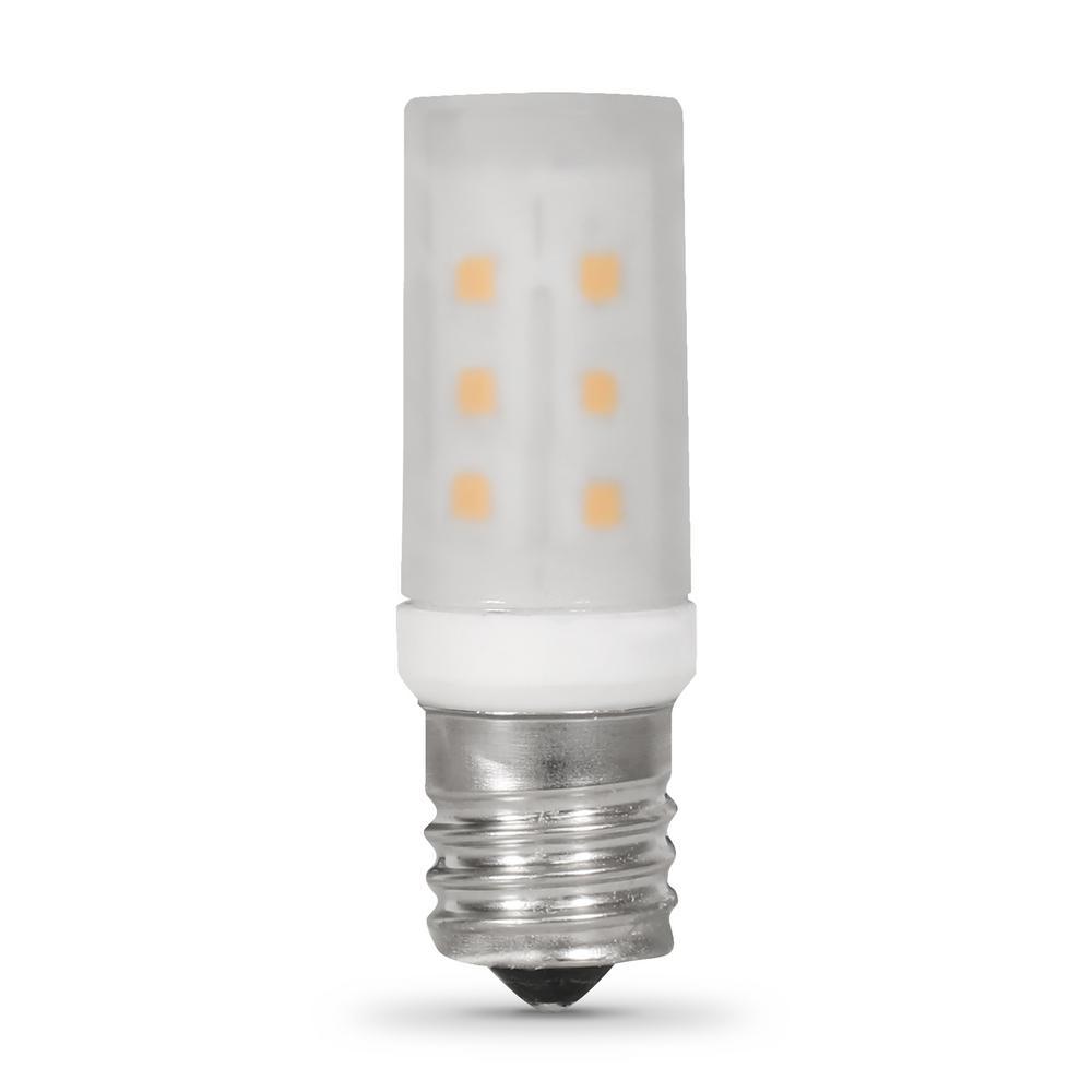 3.5-Watt T8 3000K Appliance E17 LED Light Bulb