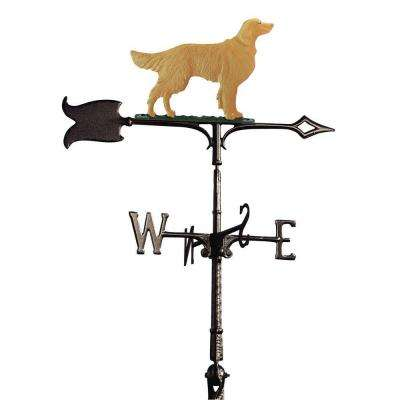 30 in. Golden Retriever Weathervane