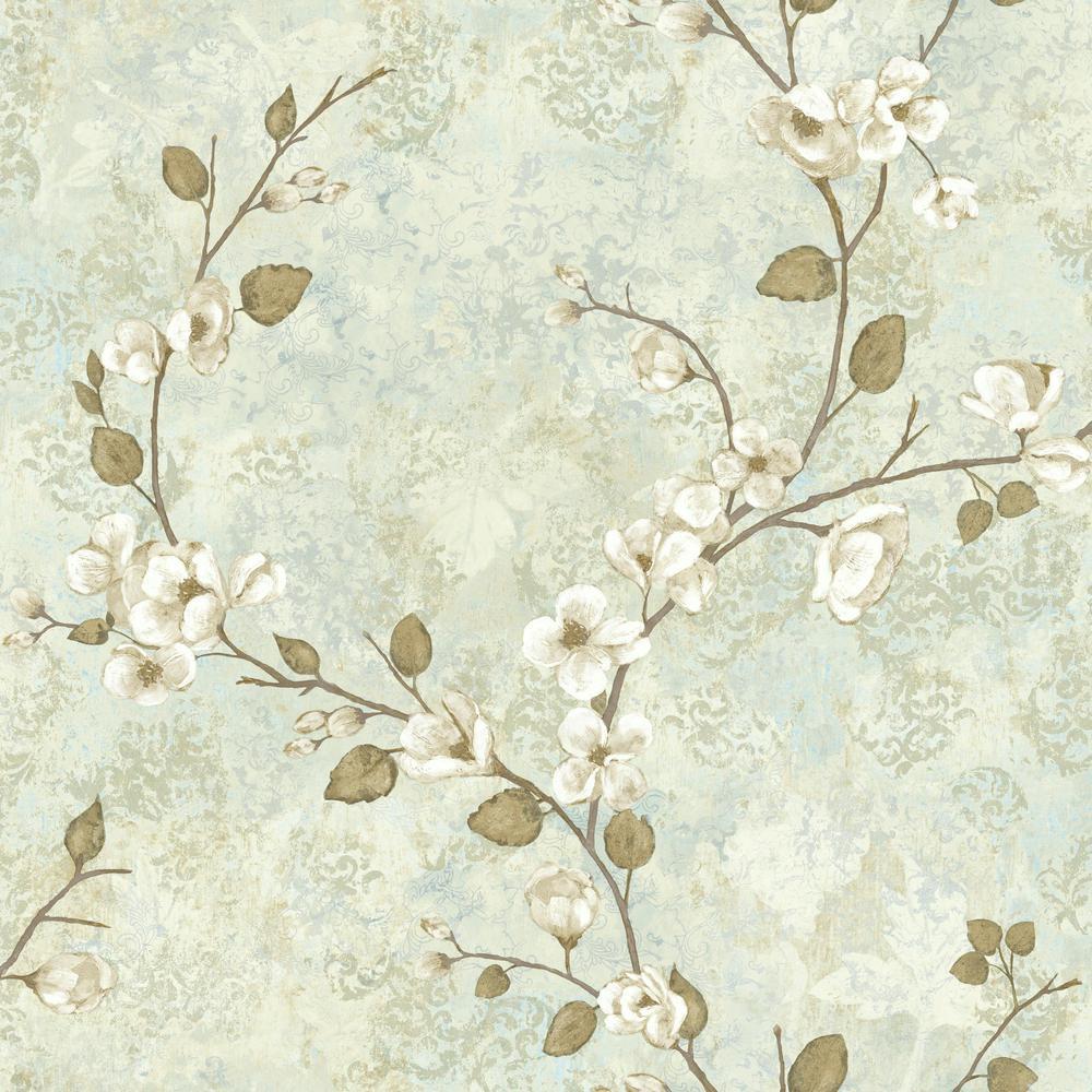 York Wallcoverings Charlotte Dogwood Wallpaper TB4315