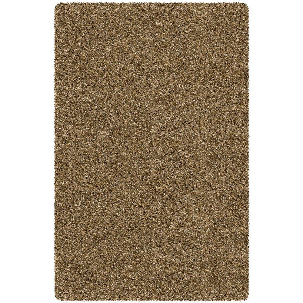 Core Shag Beige/Brown 7 ft. 9 in. x 10 ft. 6