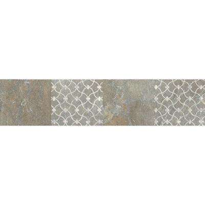 Ayers Rock Majestic Mound 3 in. x 13 in. Glazed Porcelain Decorative Accent Floor and Wall Tile