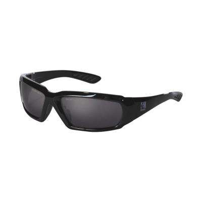Holmes Workwear Black Frame with Smoke Lenses Safety Glasses (Case of 4)