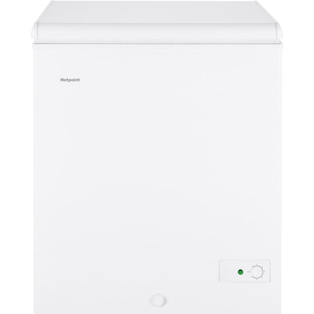 Hotpoint 5.1 Cu. Ft. Manual Defrost Chest Freezer