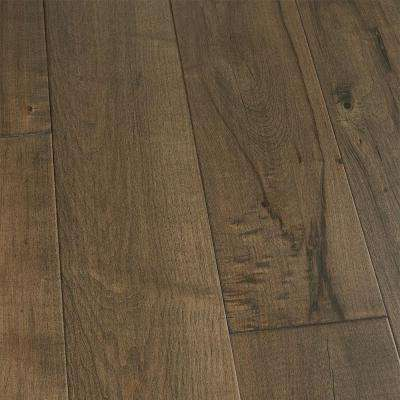 Maple Pacifica 3/8 in. Thick x 6-1/2 in. Wide x Varying Length Engineered Click Hardwood Flooring (23.64 sq. ft. / case)