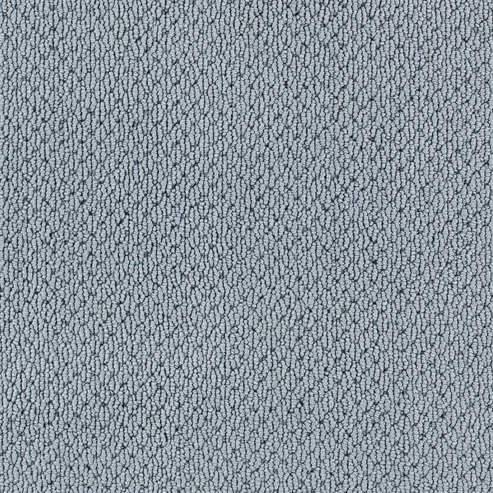 Carpet Sample-Deliverable - Color Ocean Mist Loop 8 in x 8 in