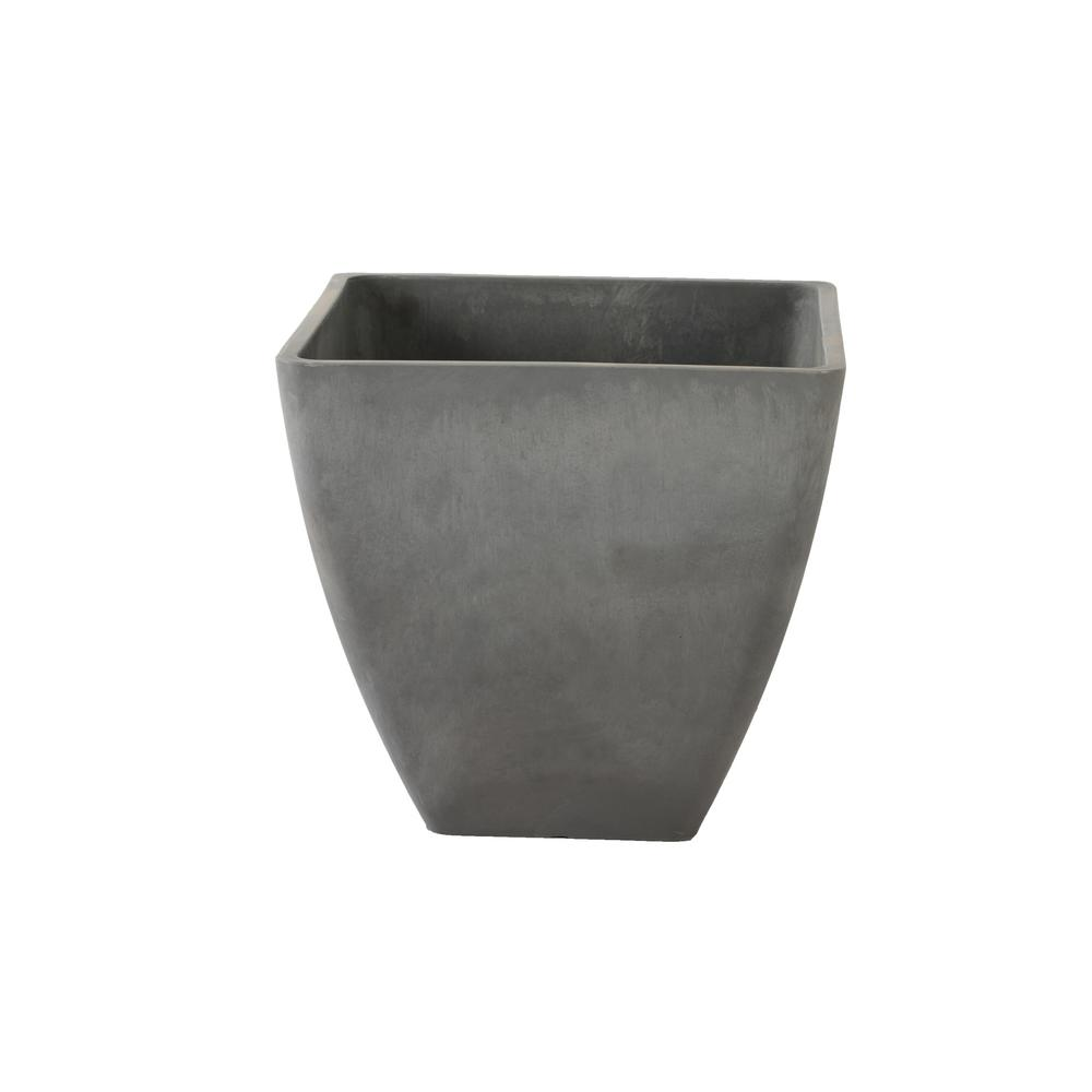 Simplicity Square 16 in. x 16 in. x 13 in. Cement