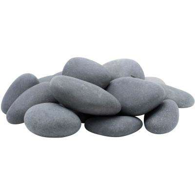 3 in. to 5 in., 30 lb. Mexican Beach Pebbles