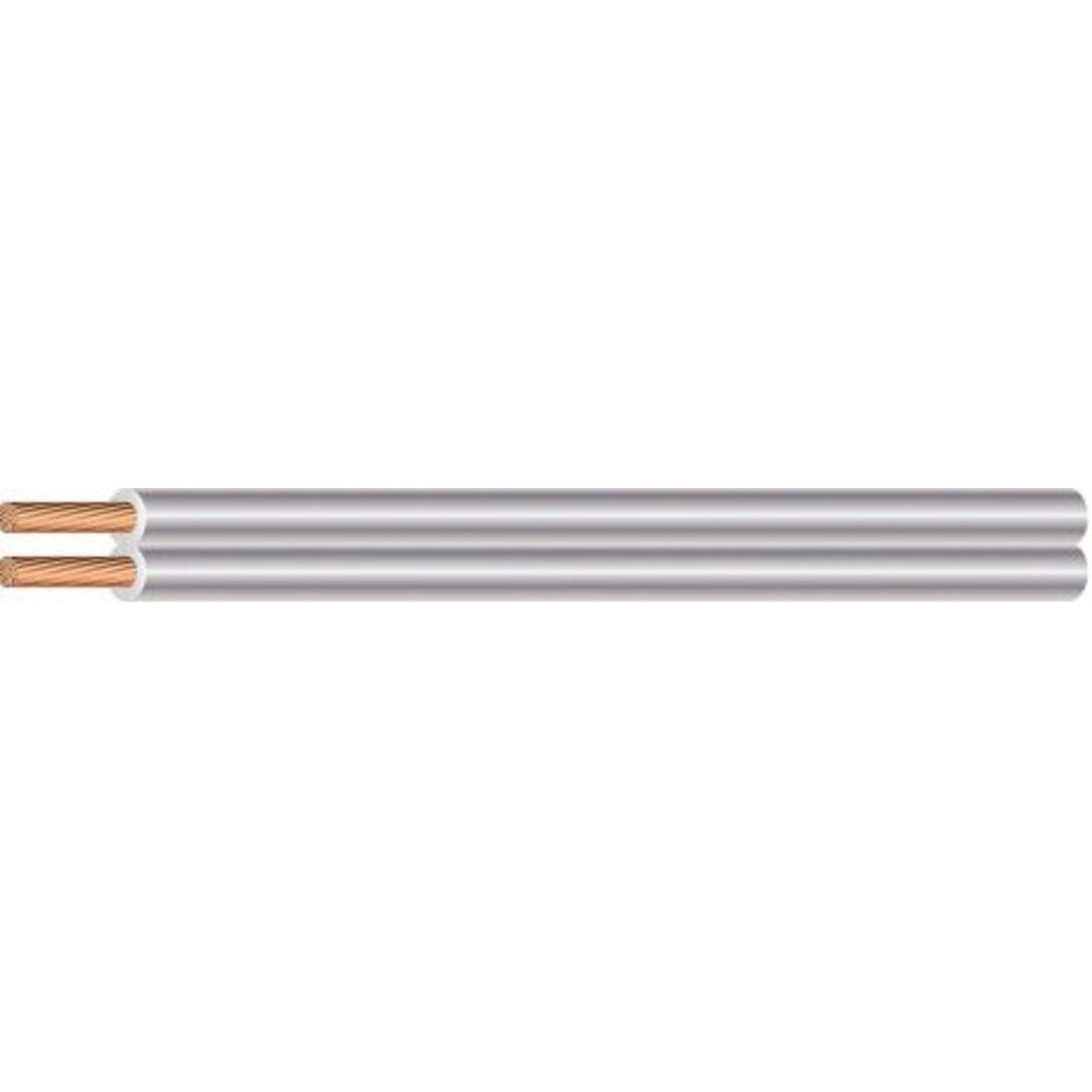 Southwire (By-the-Foot) 18/2 Clear Stranded CU SPT-1 Lamp Wire