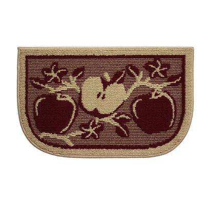 Apple Orchard 18 in. x 30 in. Kitchen Rug