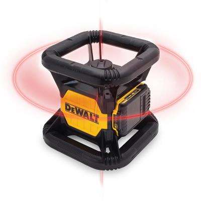 20-Volt MAX Lithium-Ion 150 ft. Red Self-Leveling Rotary Laser Level with Detector, Battery 2Ah, Charger, & TSTAK Case
