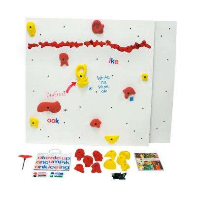 DIY Indoor Climbing Wall Discovery Dry-Erase Panel