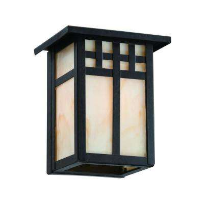 Coleville 1-Light Glendale Bronze Outdoor Wall Lantern Sconce