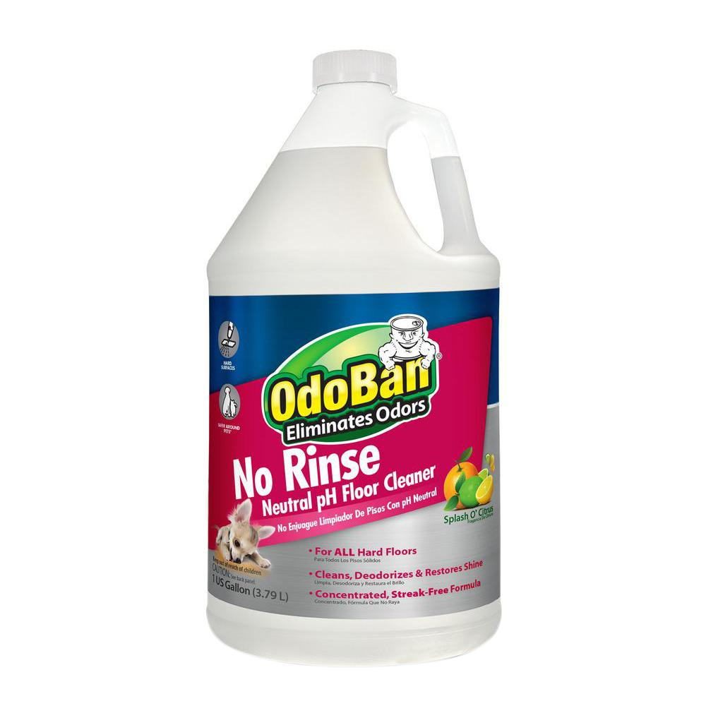 OdoBan Oz NoRinse Neutral PH Floor CleanerBG The - How to clean marley floor