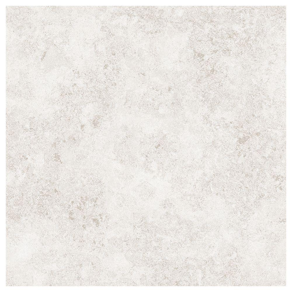 Trafficmaster Portland Stone Gray 18 In X 18 In Glazed Ceramic