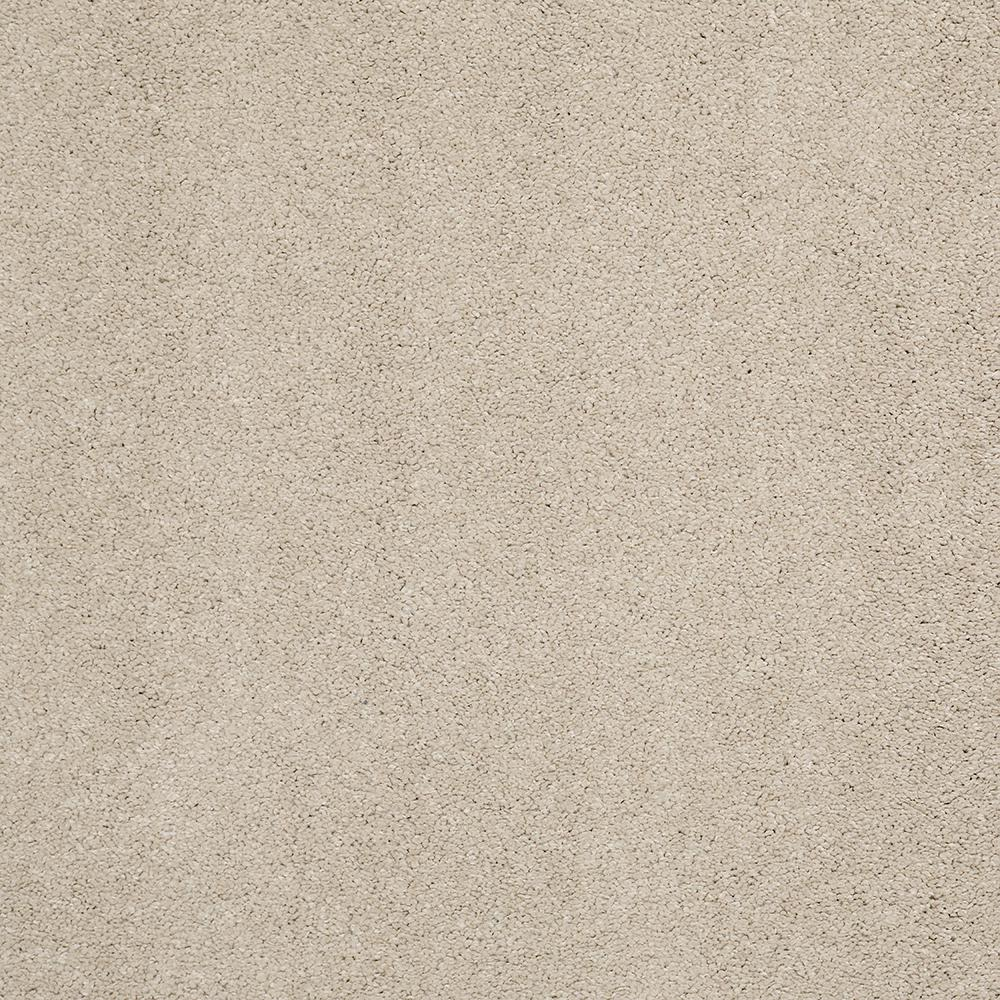 LifeProof Carpet Sample - Coral Reef I - Color Warm Stone Texture 8 in. x 8 in.