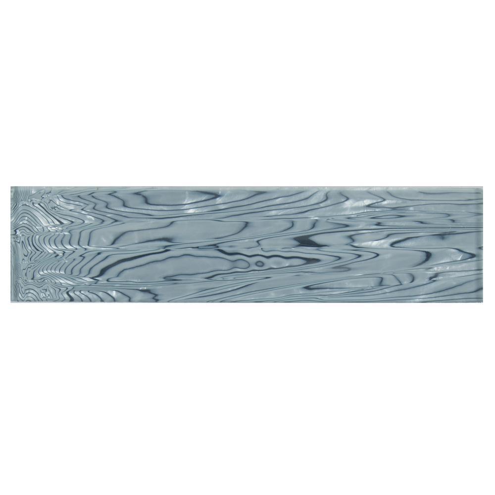 Chilcott Treasure 3 in. x 12 in. x 8mm Glass Wall Tile (0.25 sq. ft.)