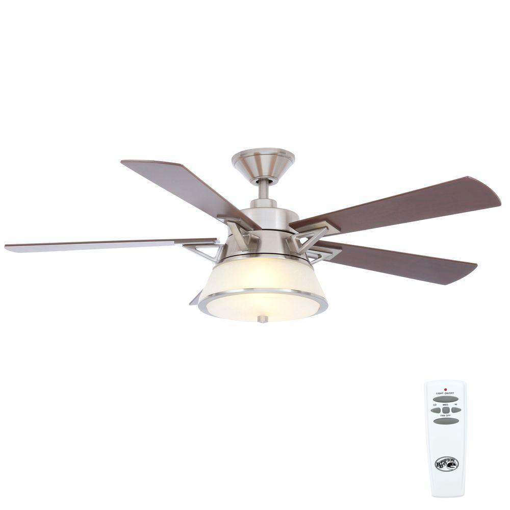 Quality Ceiling Fans Photo 3 Of 6 Charming Ceiling Fan: Sea Gull Lighting Quality Max Plus 52 In. Brushed Nickel