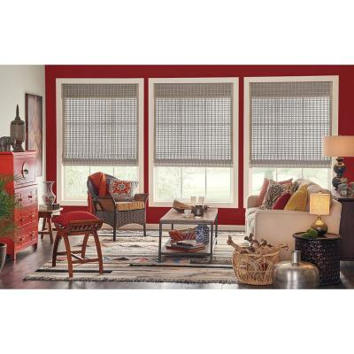 Woven Wood Palisade Valance Only