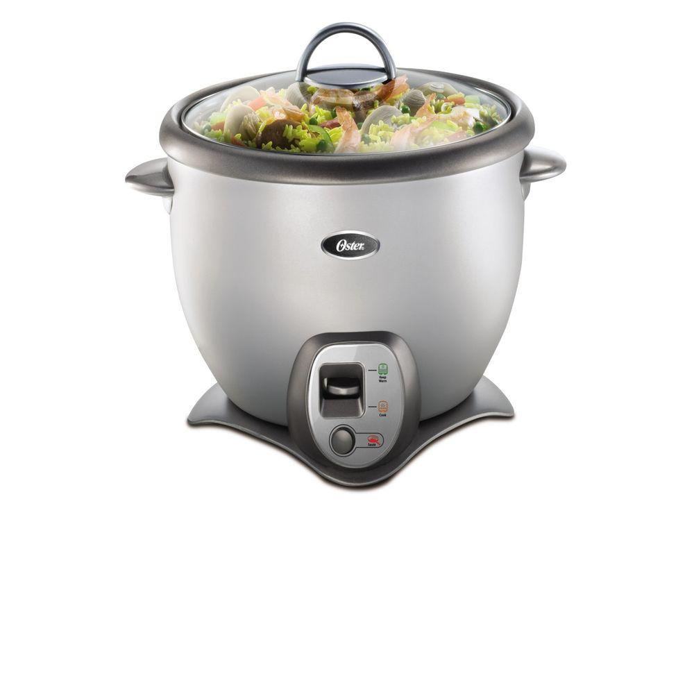 Oster 20-Cup Saute Rice Cooker in Stainless
