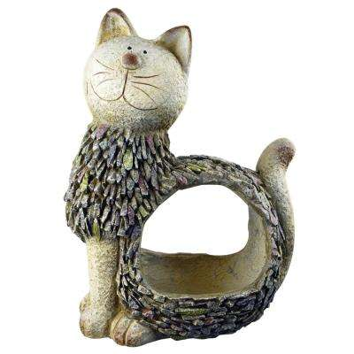 16 in. Cat Planter