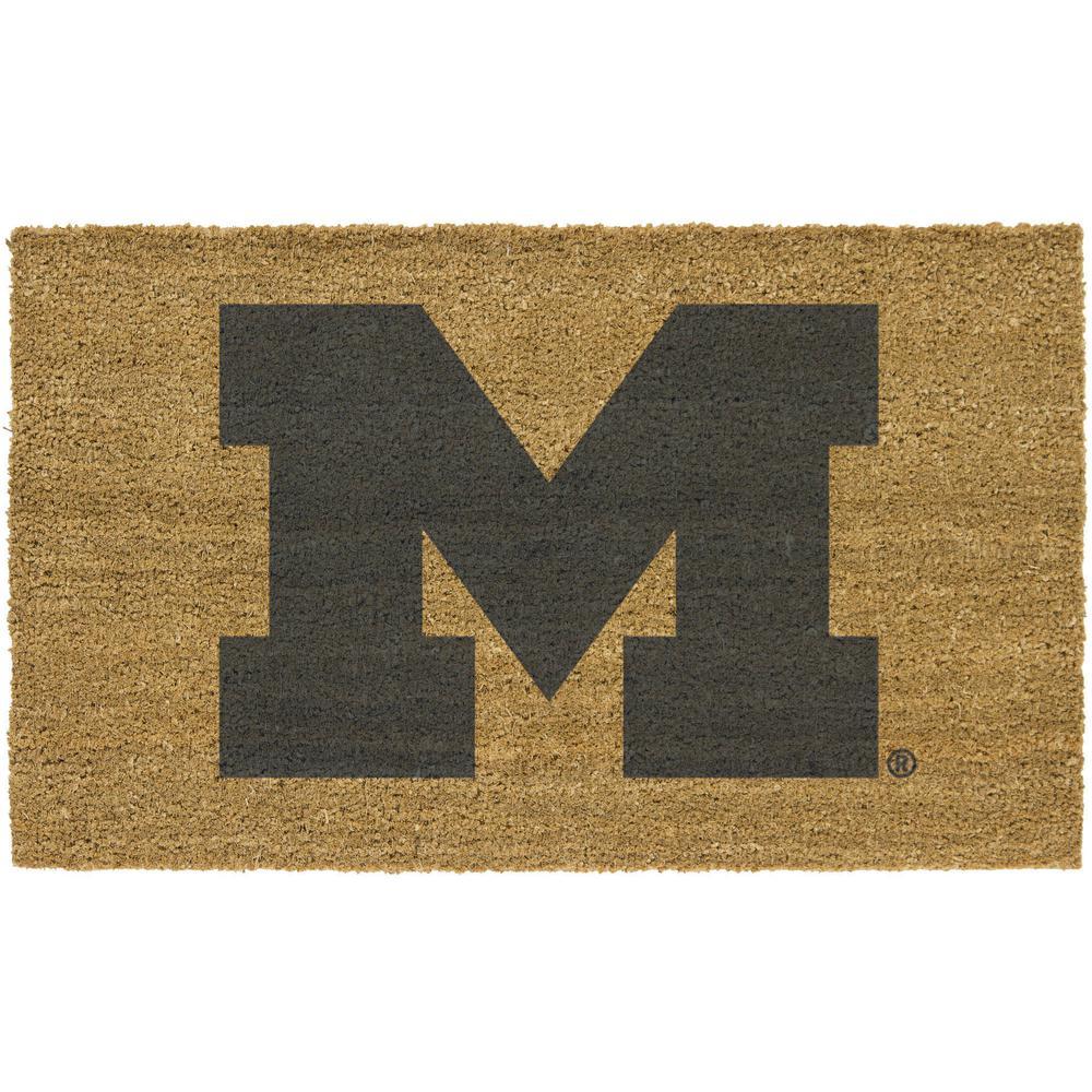 University Of Michigan Door Mats Mats The Home Depot