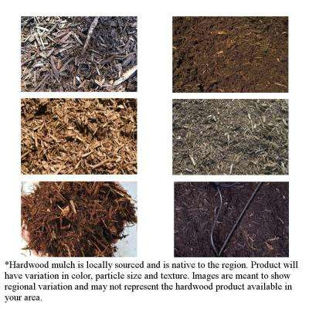 14 cu. yd. Hardwood Bulk Mulch