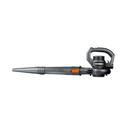 160 MPH 160 CFM 7.5 Amp 2-Speed Electric Leaf Blower