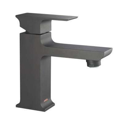 Adler Single Hole 1-Handle 1.2 GPM CALGreen Bathroom Faucet in Matte Black
