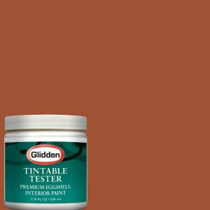 Glidden Premium 8 oz. #GLO29 Crisp Autumn Leaves Interior Paint Sample-GLO29 D8