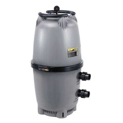 CL Series 340 sq. ft. 2 x 2.5 in. Unions Pool Cartridge Filter
