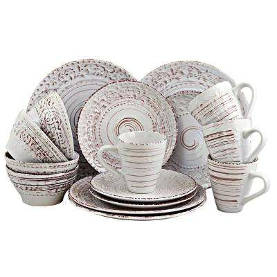 Malibu Sands 16-Piece Shell Dinnerware Set