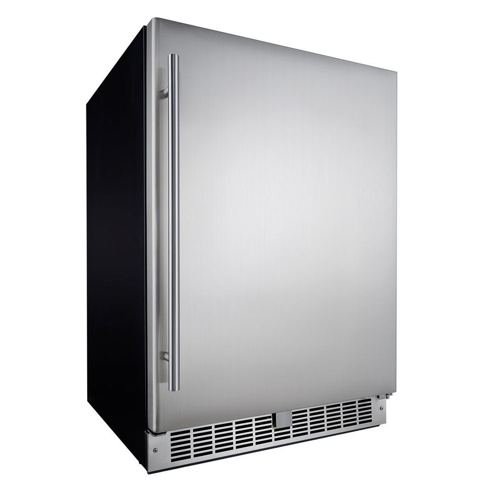c0ec8bb9a42 Silhouette Professional 5.5 cu. ft. Mini Fridge in Stainless Steel ...