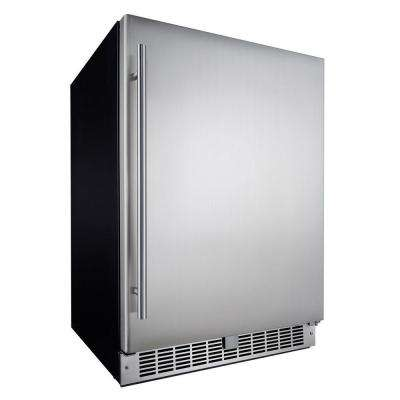Professional 5.5 cu. ft. Mini Refrigerator in Stainless Steel