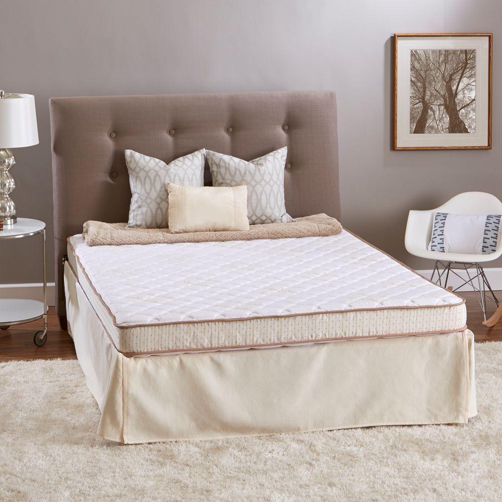 innerspace luxury products sleep luxury twin xl size high density foam mattress slt 3880 the. Black Bedroom Furniture Sets. Home Design Ideas
