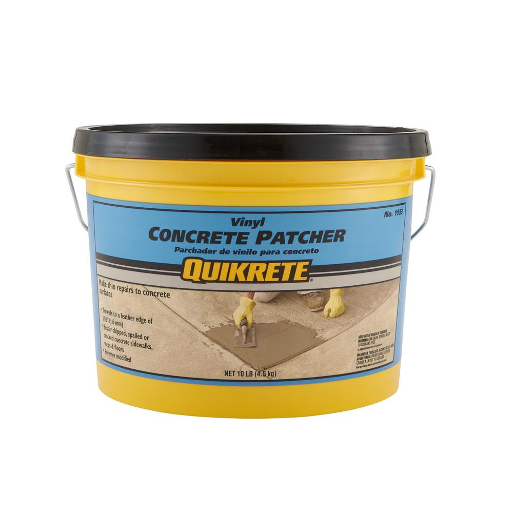 Quikrete 10 Lb Vinyl Concrete Patch Repair 113311 The