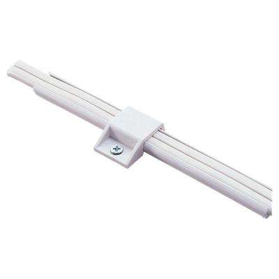 White Polycarbonate Lx Track Mounting Clip