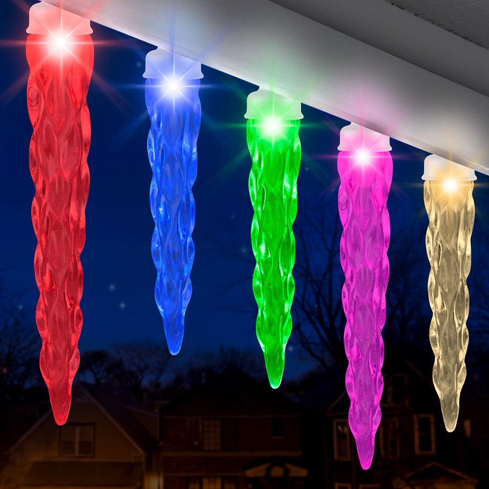 23ft. 24-Light Multi-Color 140 Program  Light String
