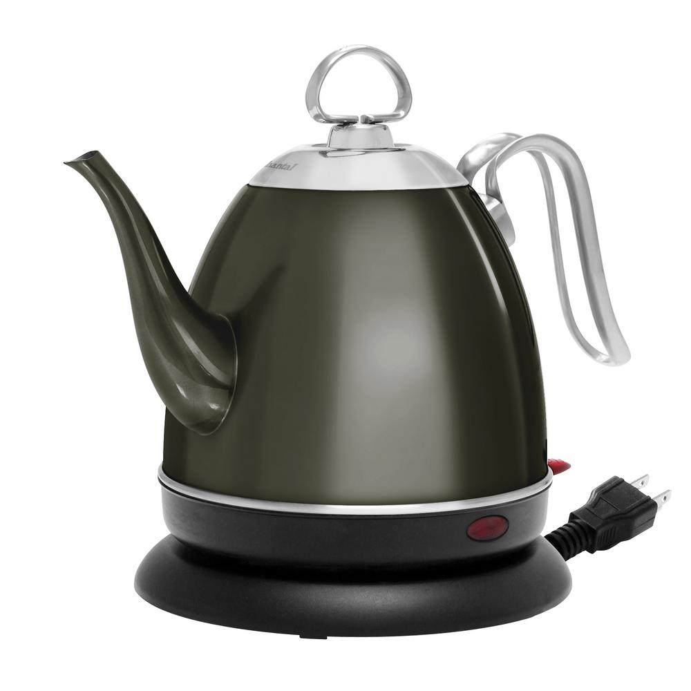 Mia 4-Cup Electric Kettle in Onyx
