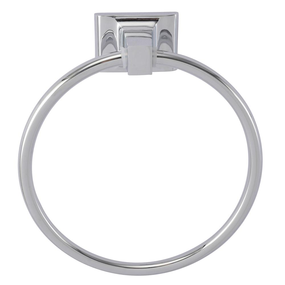 Barclay Products Hennessey Towel Ring in Chrome