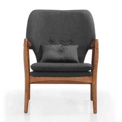 Charcoal Gray Bradley Accent Chair