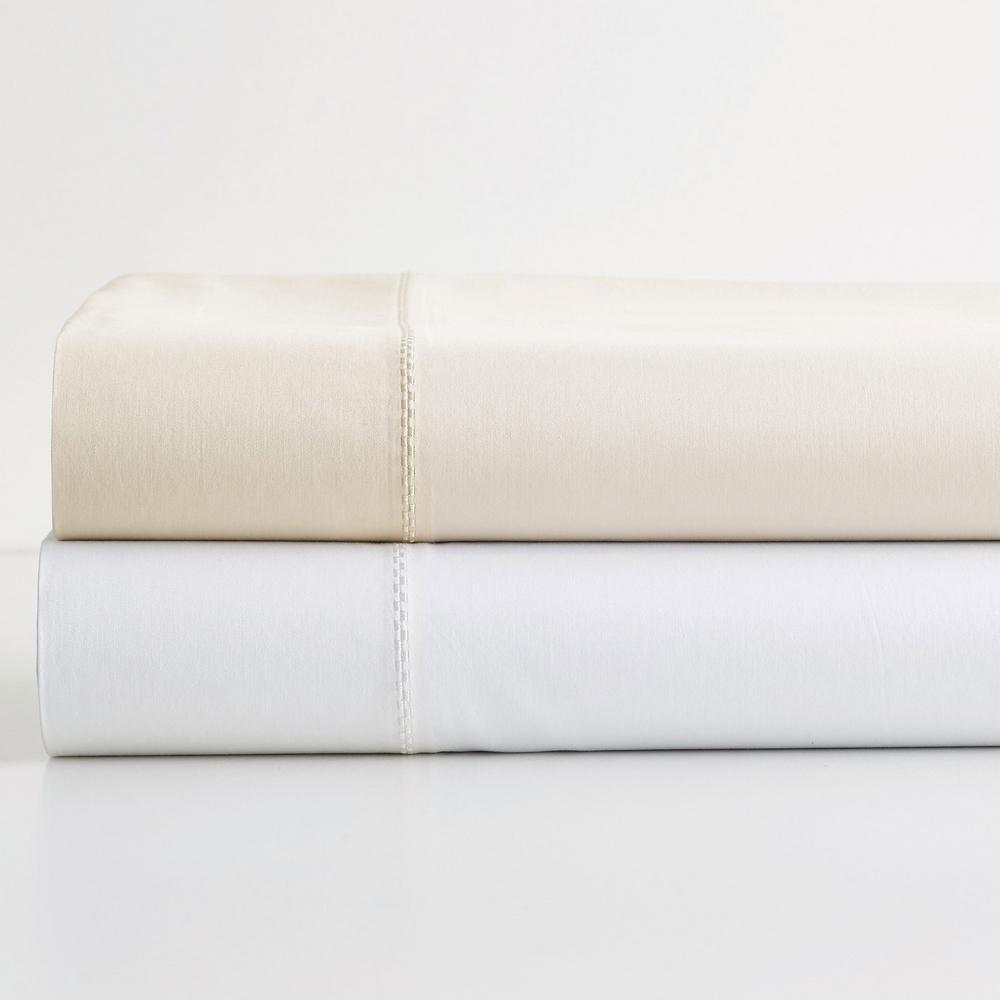 Oxygen MicroCotton Sateen 340-Thread Count Flat Sheet
