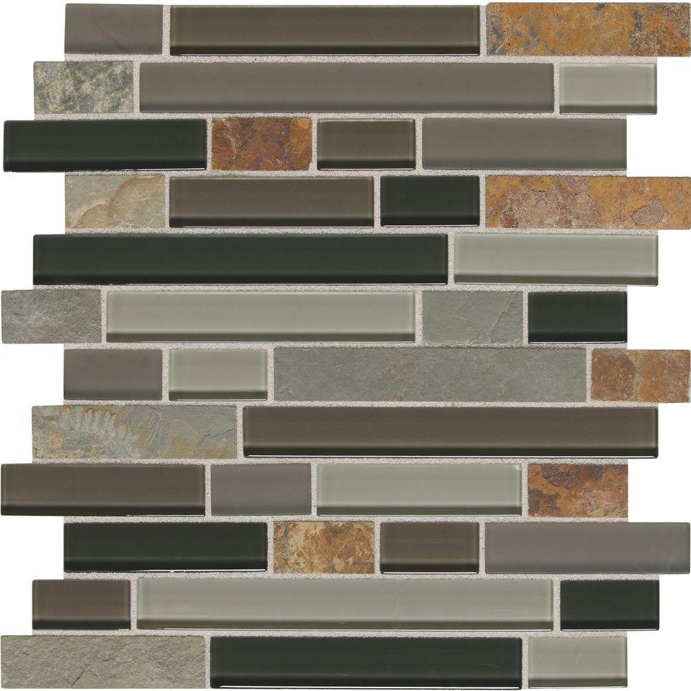 Slate Radiance Flint 11-3/4 in. x 12-1/2 in. x 8 mm