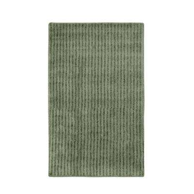 Sheridan Deep Fern 30 in. x 50 in. Washable Bathroom Accent Rug