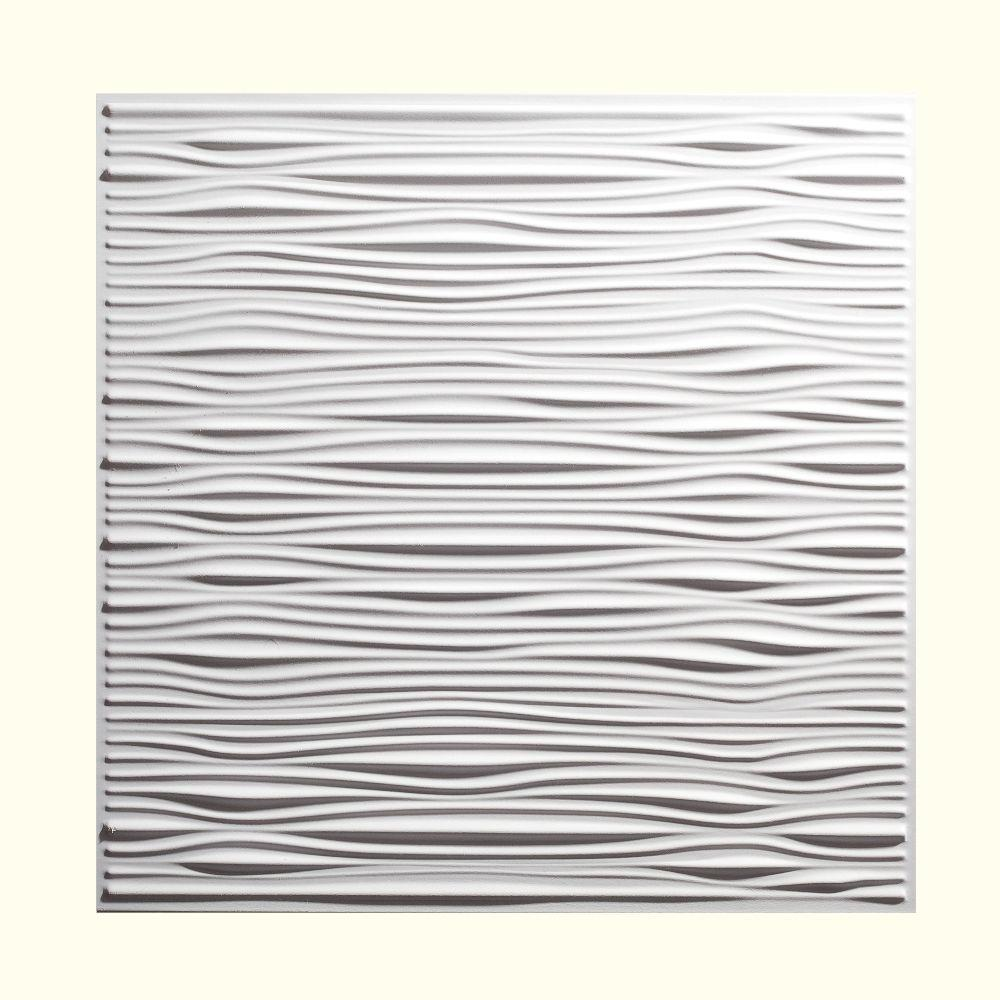 Vinyl drop ceiling tiles
