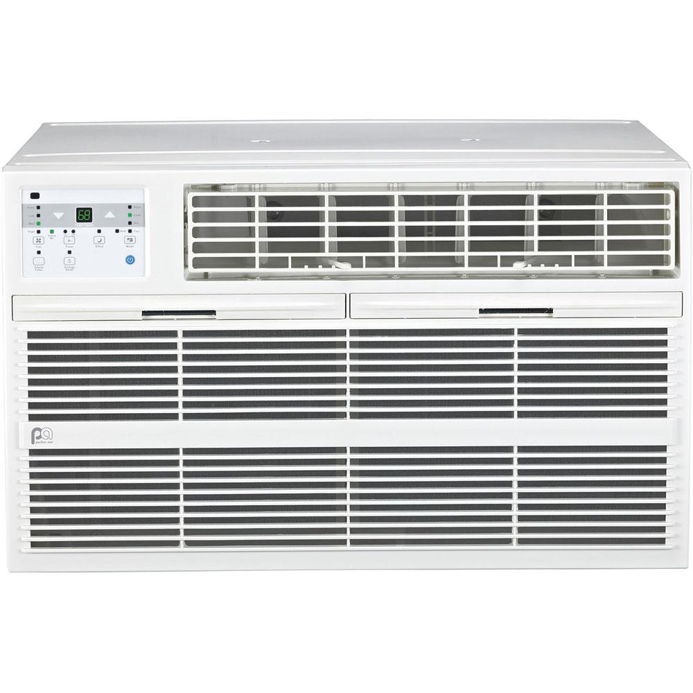 Perfect aire 14,000 BTU 230V Through the Wall Air Conditioner with Heat and  Remote Control