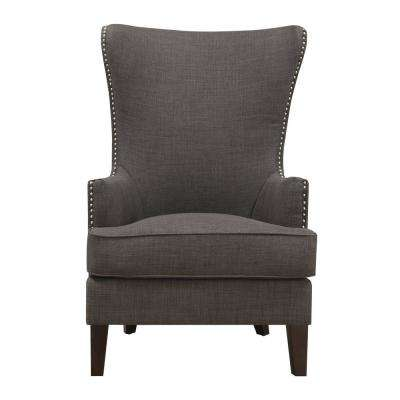 Kegan Charcoal Accent Chair